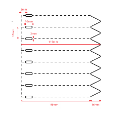 Thermal transfer stick-in labels