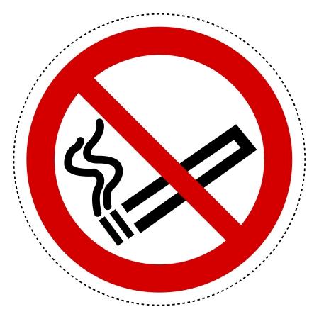 Forbidden signs - Do not smoke