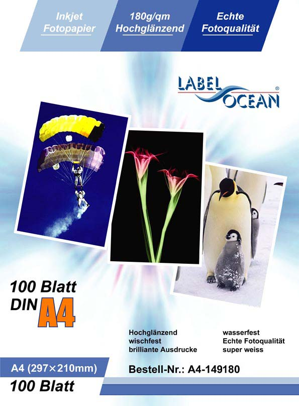 Photo Paper from LabelOcean